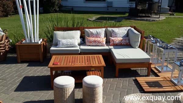 Muebles de exterior for Muebles de exterior madera