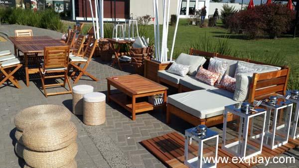 Muebles de exterior for Muebles para balcon exterior pequeno