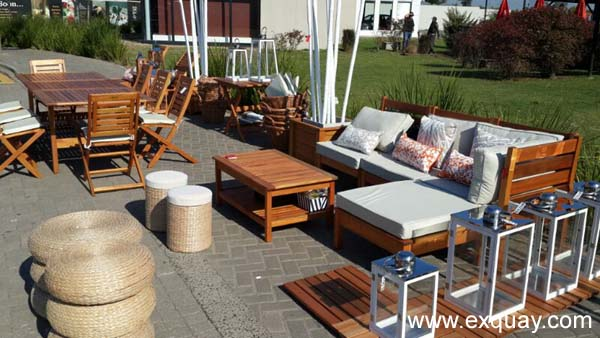 Muebles de exterior - Muebles de mimbre para jardin ...